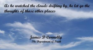 Clouds drifting